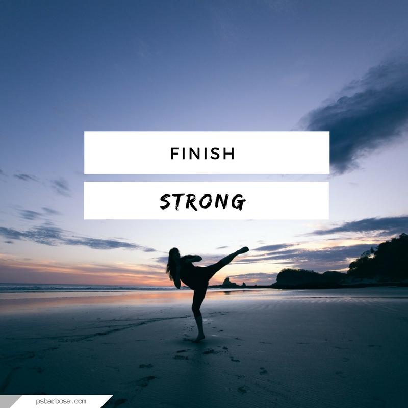 PSB - Wellness - Training Journal - Finish Strong