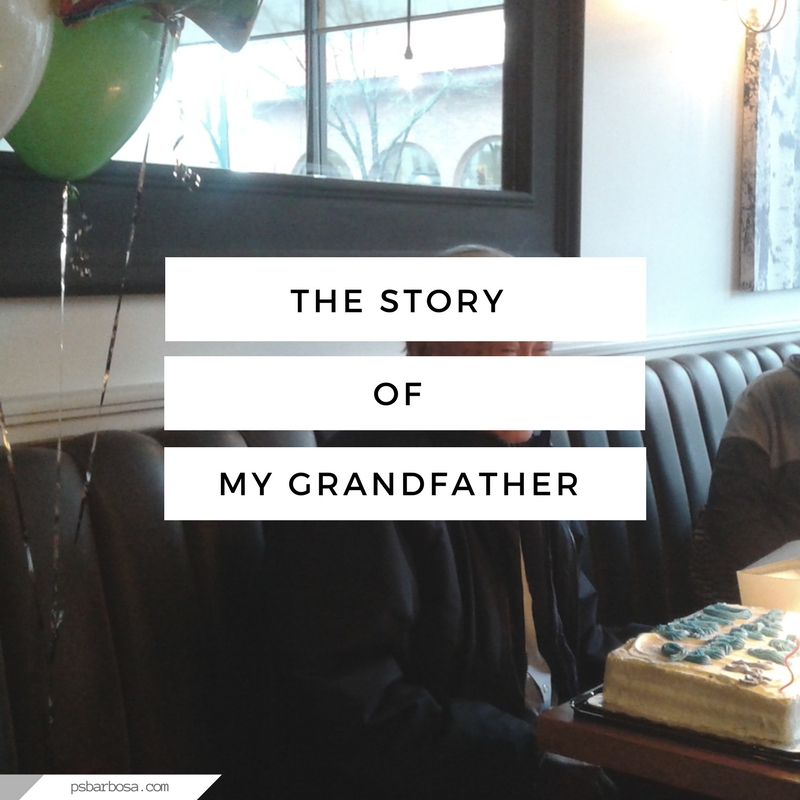 The Story Of My Grandfather - psbarbosa.com