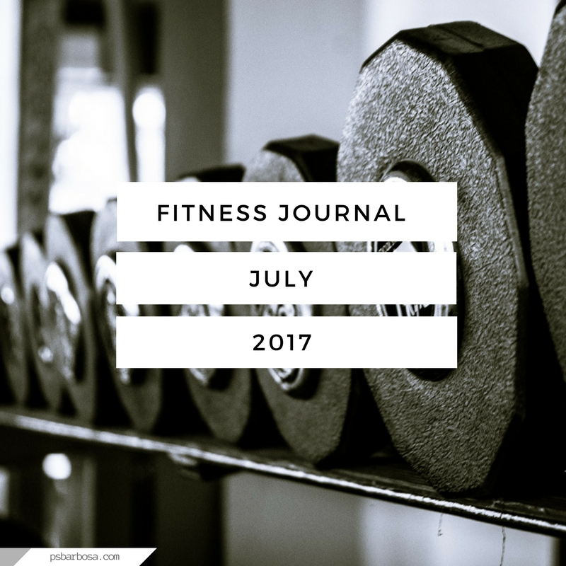 Fitness Journal July 2017 - psbarbosa.com