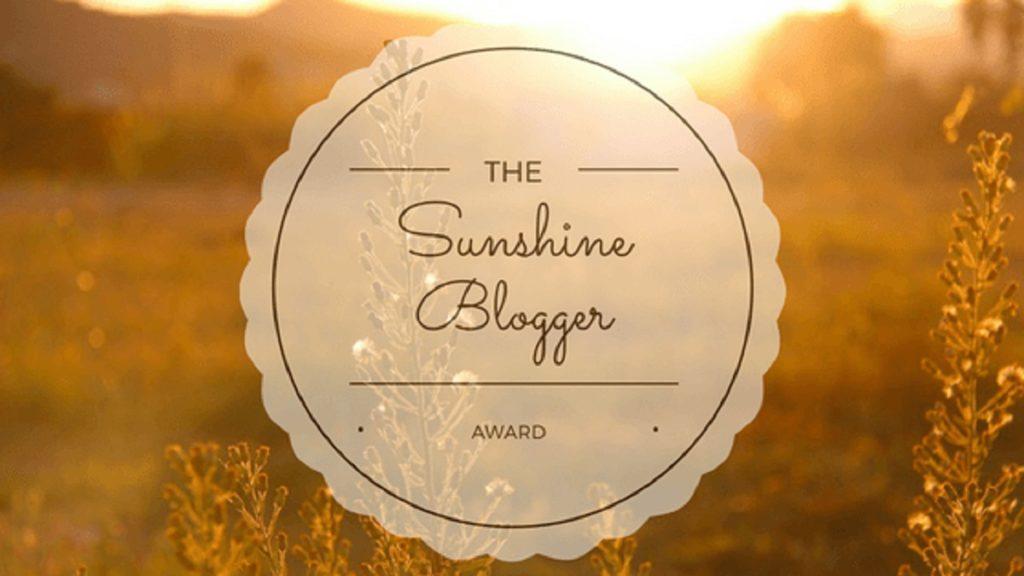 The Sunshine Blogger Award - psbarbosa.com